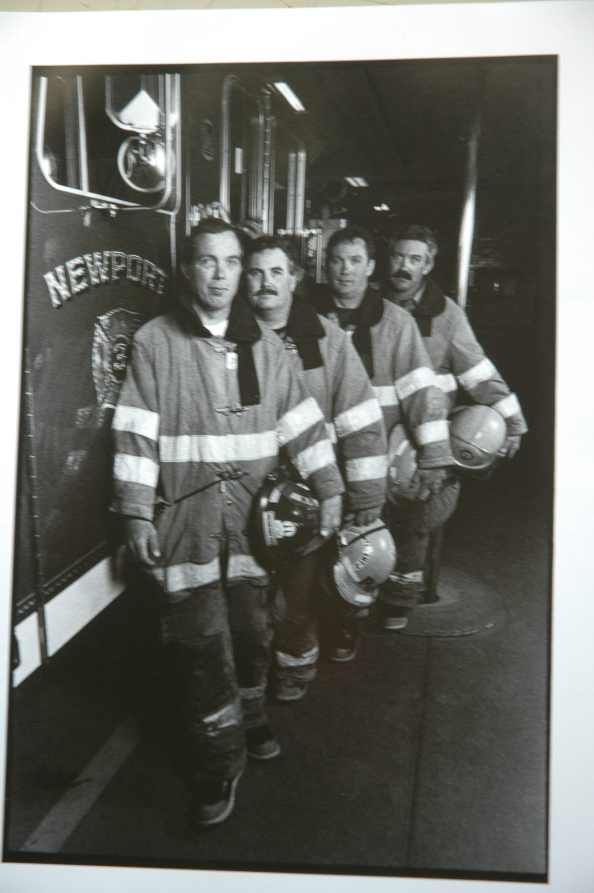 The four Kirwin brother firefighters