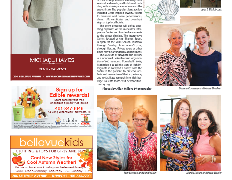 """Newport This Week – """"Benefit at the Beach a Sell-Out"""" Online version"""
