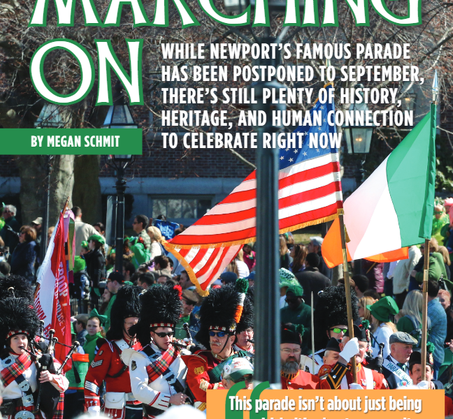 """The Bay Magazine – """"St. Patrick's in Newport Marches On"""""""