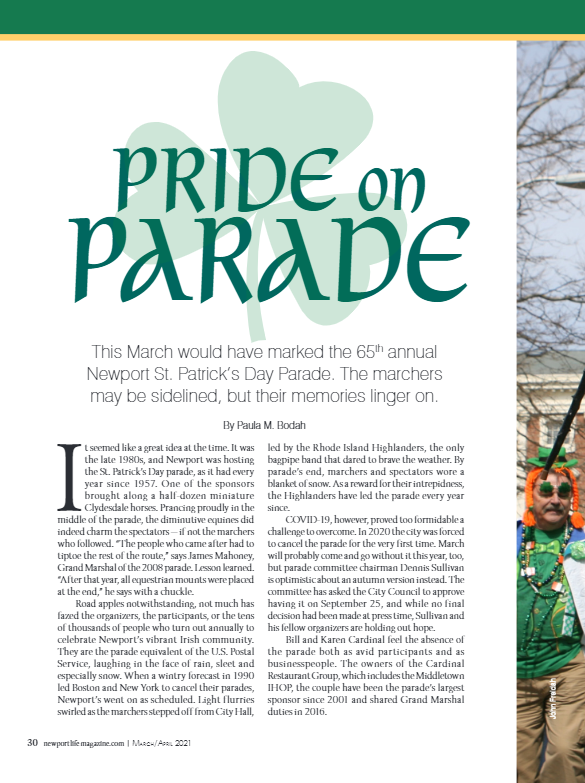 Cover - NLM March April 2021 Pride On Parade